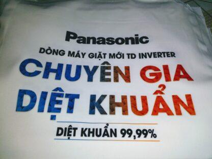 Áo sự kiện ra mắt máy giặt mới Panasonic